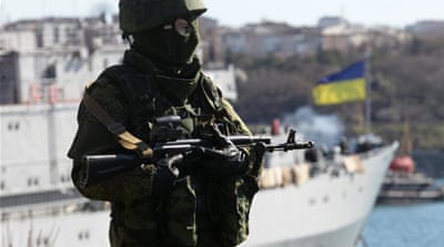 Tensions boiling in Crimea's warm-water port