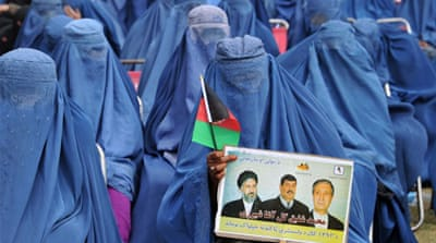 Afghanistan is to hold both provincial and presidential polls next month amid threats of violence by Taliban [AFP]