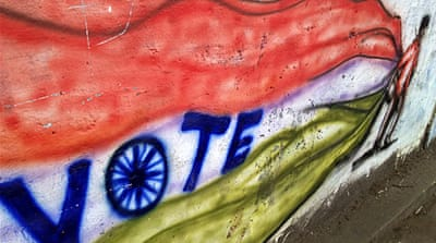 In Pictures: India's poll graffiti