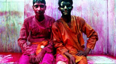 Lathmar Holi in India's land of Krishna
