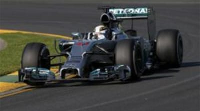 Mercedes dominate opening practice