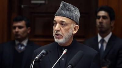 Hamid Karzai is resisting pressure to sign a post-2014 security agreement with the US [AP]