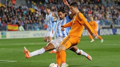 Ronaldo notched up his 25th goal of the campaign as Real increased their lead in La Liga [Getty Images]