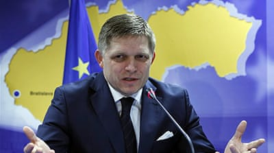 Fico is the leading contender among 14 candidates [Reuters]