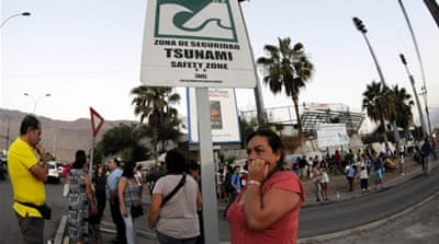 Chile is one of the world's most earthquake-prone countries [Reuters]