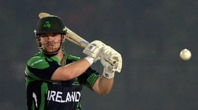 Paul Stirling gave Ireland a flying start with 60 off 34 balls [AFP]