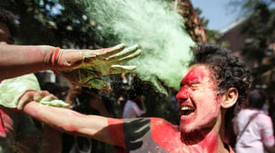 In Pictures: Holi celebrations in Bangladesh