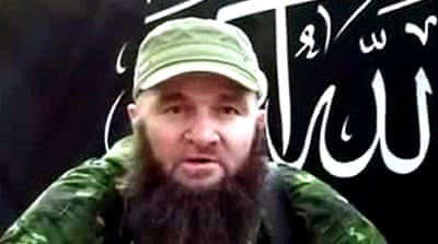Umarov's forces have claimed responsibility for several deadly bombings, including major attacks in Moscow [AFP]