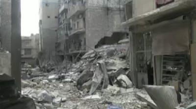 Syria's civil war lays waste to heritage city