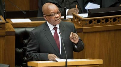 "The report says that Zuma derived ""substantial"" gain from the home improvements paid for by the state [AFP]"