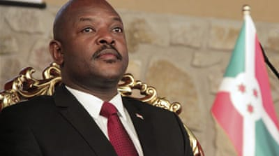 Burundi leader defends opposition suspension