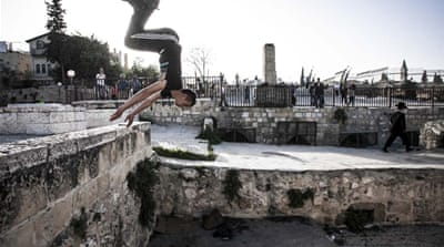In Pictures: Palestinian parkour