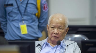 The ECCC brings the leaders of the Khmer Rouge to court for crimes against humanity [Reuters]