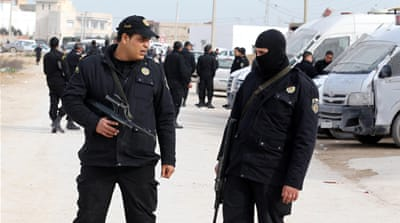 Tunisian security forces denied suffrage