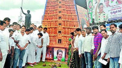 Hero-worship scales new heights in India