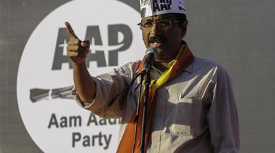 The odds against Arvind Kejriwal winning are formidable [Reuters]