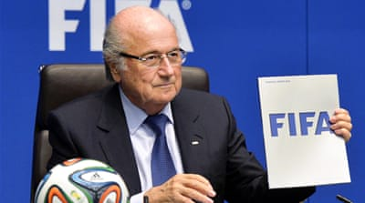 Blatter has so far refused to confirm whether he would stand in the elections or not [EPA]