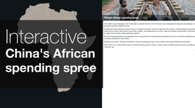 Interactive: China's African spending spree