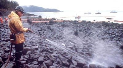 Exxon Valdez spill effects linger 25 years on