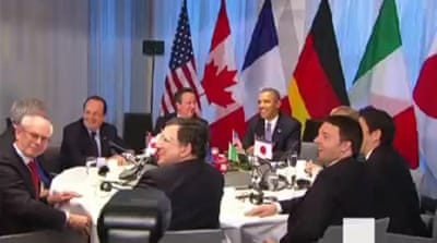 G7 nations suspend Russia and scrap G8 summit