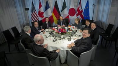 G7 nations agreed to hold their own summit instead of attending a planned G8 meeting in Russia [AP]