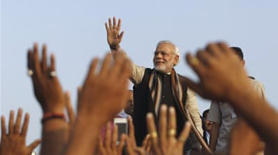 BJP's prime ministerial candidate Narendra Modi is known to be intolerant of dissent  [Reuters]