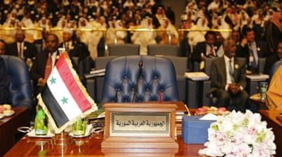 Jarba: Empty Syria seat strengthens Assad