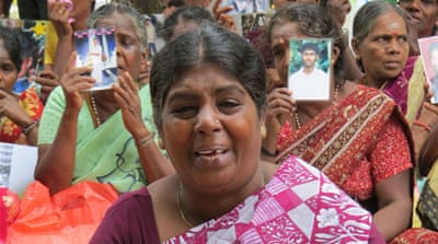 Sri Lankans still searching for missing sons