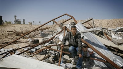In Pictures: Bedouin face Israeli demolitions