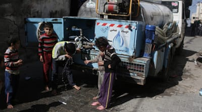 In Pictures: Gaza water crisis worsens