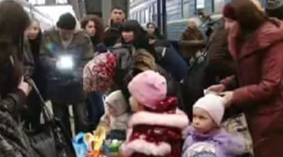 Crimea's Muslim Tatars flee for Ukraine