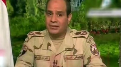 Mixed reaction to Sisi's presidential bid