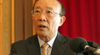 North Korea's UN envoy So Se Pyong said the Council had been turned 'into a stage of political confrontation' [AP]