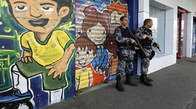 Brazil deploys army in Rio slums