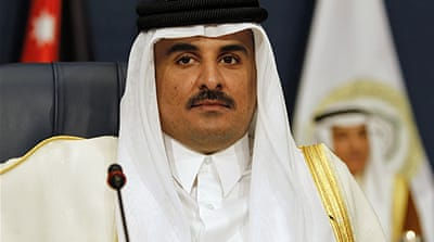 Sheikh Tamim and President Bashir will discuss 'issues in which both sides have a mutual interest' [Reuters]