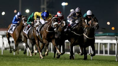 Ruler of the World is the 9-2 favourite for the $10 million Dubai World Cup at Meydan Racecourse  [Getty Images]