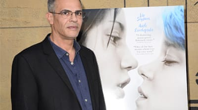 Abdellatif Kechiche's film, Blue is the Warmest Color, is pushing limits of freedom of expression in Tunisia [EPA]