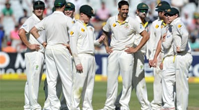 Mitchell Johnson combined pace and aggression to raise his series tally to 19 wickets in five innings [AFP]