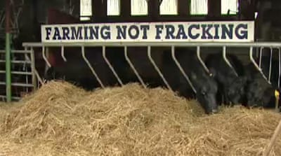 Fracking sets alarm among Ireland's farmers