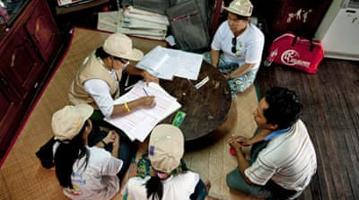 Tensions rise as Myanmar holds census