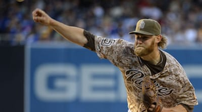 The San Diego Padres secure a season-opening 3-1 home win over the Los Angeles Dodgers [Reuters]
