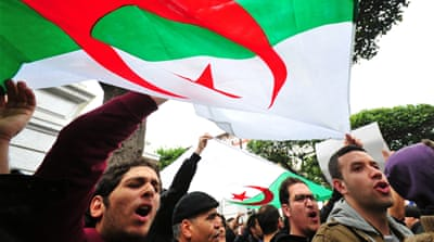 Bouteflika win likely in Algeria amid dissent