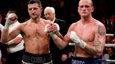 Groves claimed the referee stopped their last fight prematurely and the IBF ordered the rematch [Getty Images]