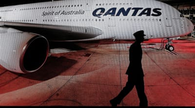 Qantas will continue to fly over war zones