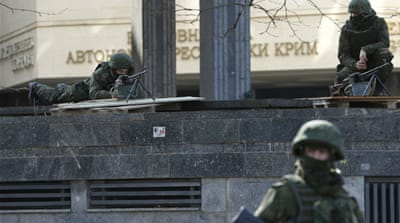 Crimea parliament votes to join Russia