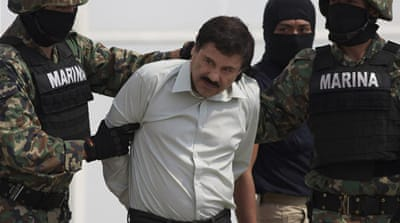 Joaquin 'Chapo' Guzman headed the Sinaloa Cartel, which became one of the world's largest illicit drug empires [AP]