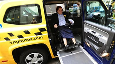 Disabled Americans fight for transport rights
