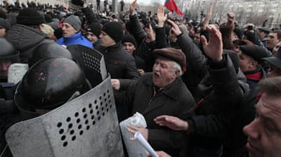 Ukraine volatile as talks remain gridlocked