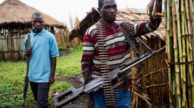 In Pictures: FDLR rebels in the DR Congo