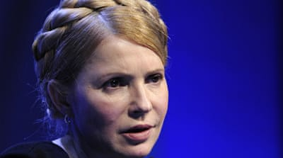 Tymoshenko did not deny discussing how she would handle the Crimea crisis and apologised for her language [EPA]